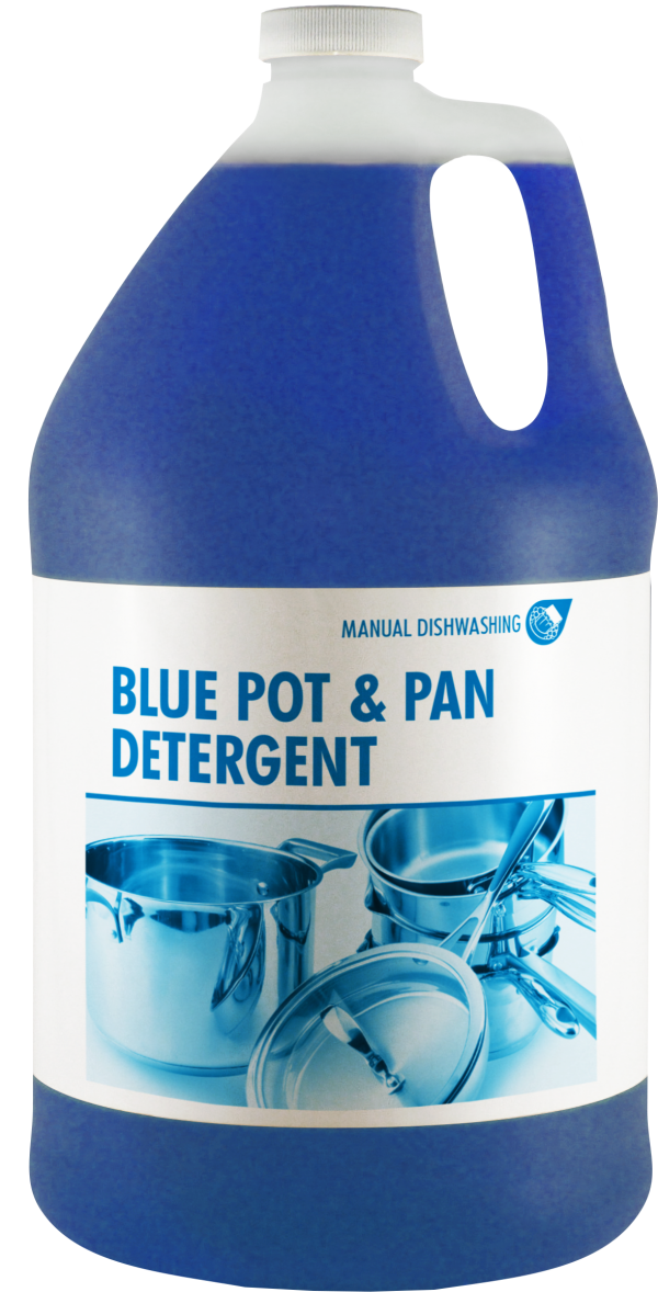 Blue Put and Pan Detergent