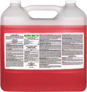 Alpha Bac 10 Sanitizer