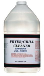 Fryer and Grill Cleaner