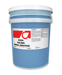 High Solids Rinse Additive