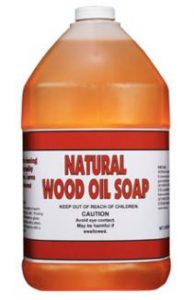Wood Oil Soap