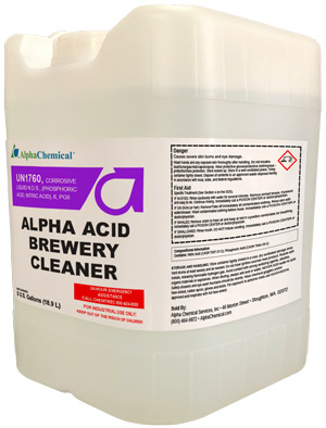 Alpha Acid Brewery Cleaner