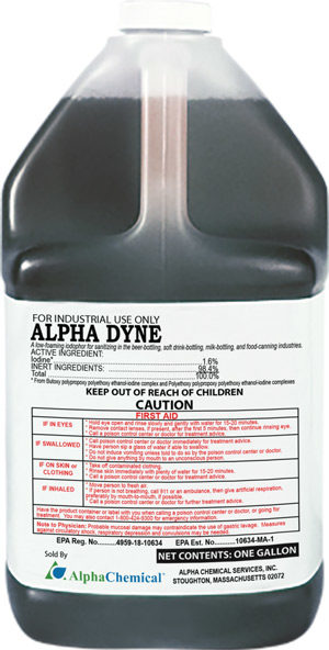 Alpha Dyne Sanitizer