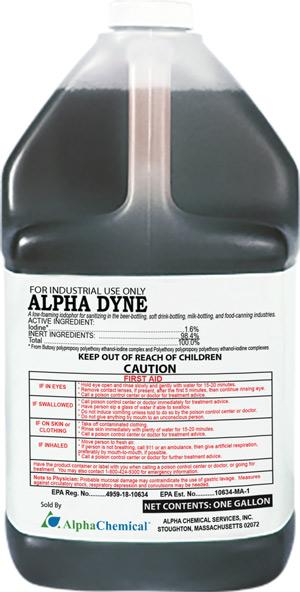 Alpha Dyne Sanitizer